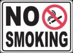 LABEL NO SMOOKING