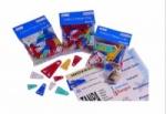 BANTEX-PLASTIC COLOUR PAPER CLIP 8850