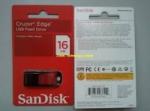 FLASH DISC SANDISK 16GB CRUZER EDGE SDCZ51