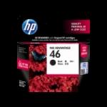 Tinta HP 46 Black