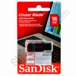 FLASH DISC SANDISK 16GB CRUZER BLADE CZ50