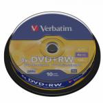 DVD+RW VERBATIM 10PCS