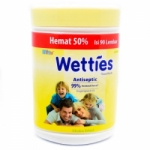 WETTIES 90LBR TISSUE BASAH